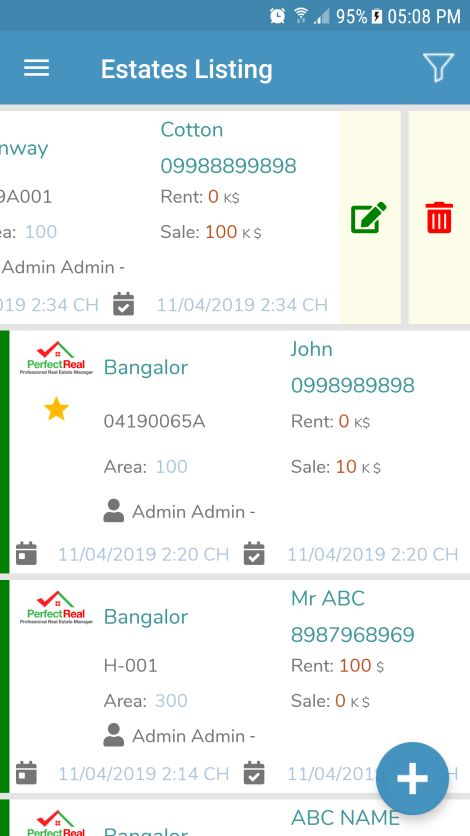 Real Estate Management Xamarin Without Backend Screenshot 14