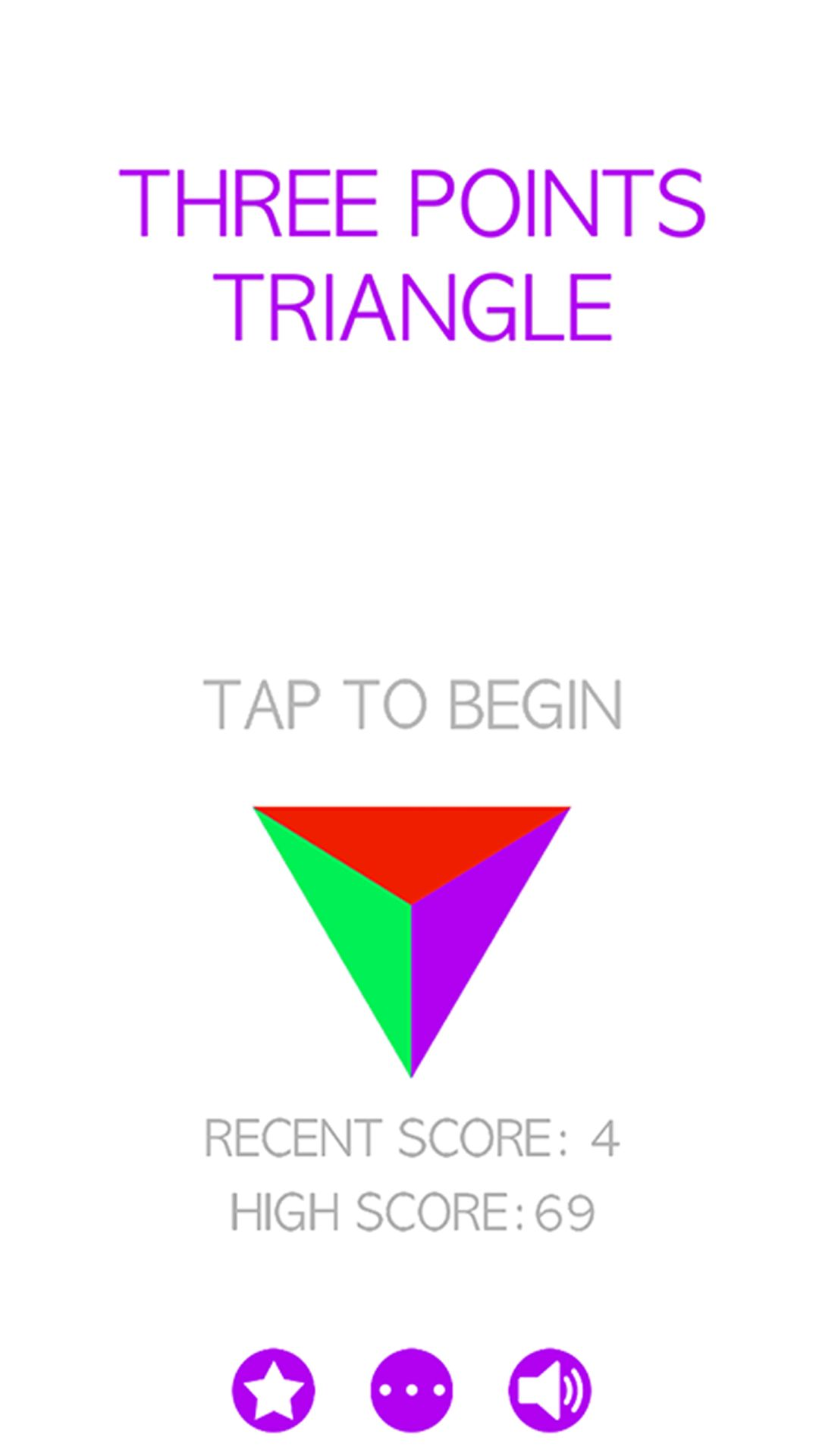 Color Points Triangle