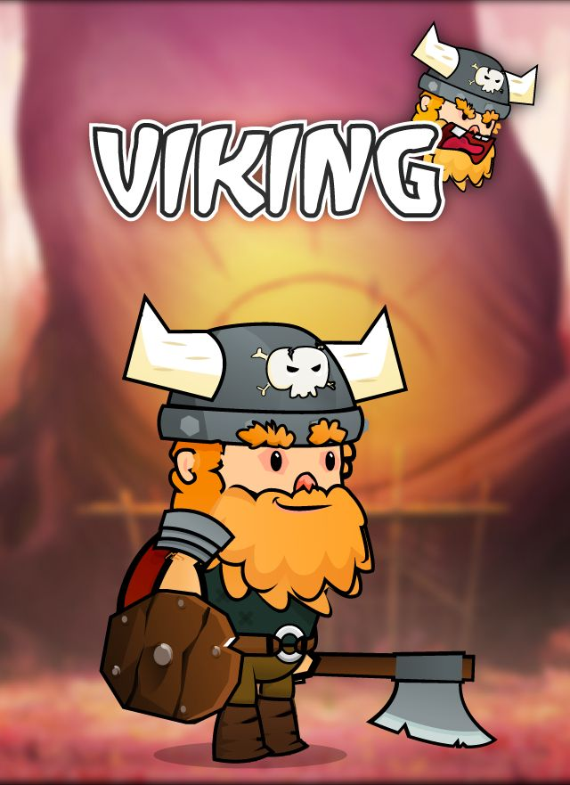 Viking 2D Character Sprites Screenshot 1