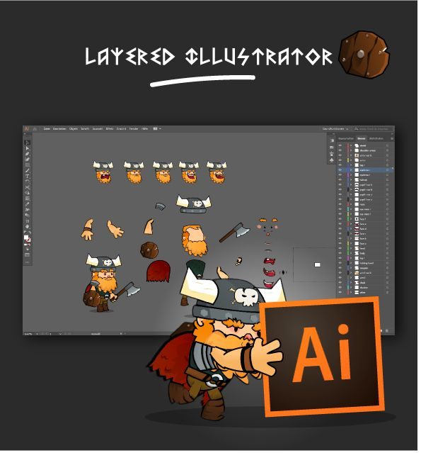 Viking 2D Character Sprites Screenshot 3