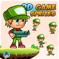 Joemar 2D Game Sprites