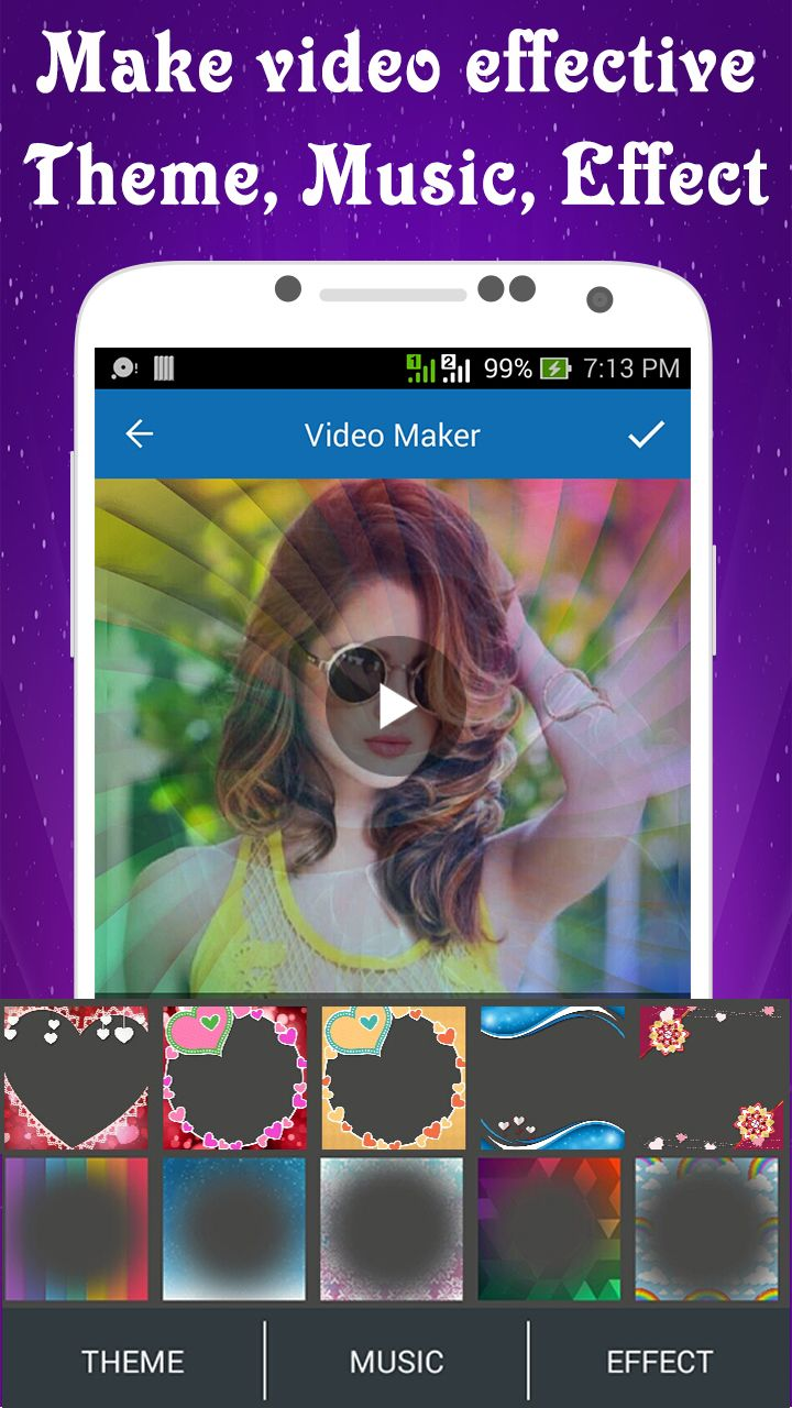 Photo Video Maker With Music - Android Source Code Screenshot 3