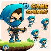 Assassin 004 2Game Character Sprites