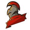 Knight Mascot Logo Template