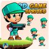 Leonard 2D Game Character Sprites