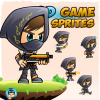 black-assassin-game-sprites