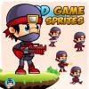 NinjaMike Game Sprites