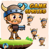 VikingBoy 2D Game Sprites