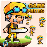 Mason Game Character Sprites