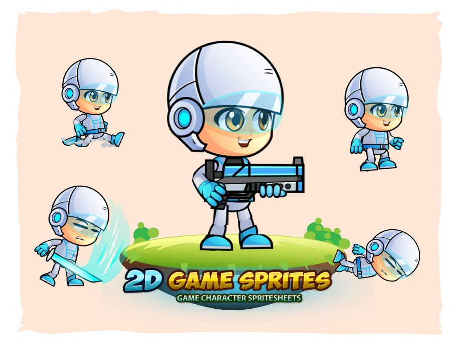 Michael Game Character Sprites Screenshot 1