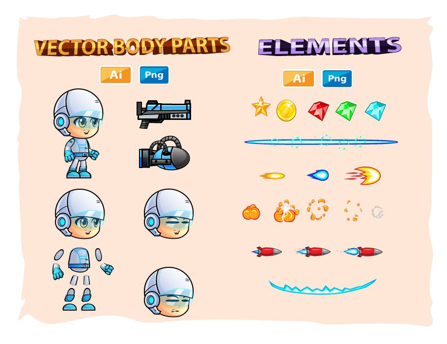 Michael Game Character Sprites Screenshot 3