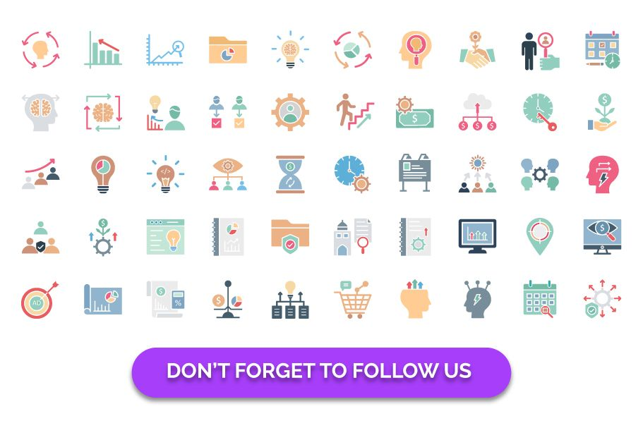 600 Cross Marketing Vector Icons Pack Screenshot 4