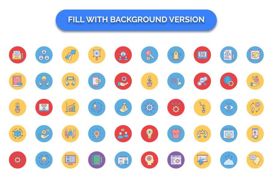 600 Cross Marketing Vector Icons Pack Screenshot 6