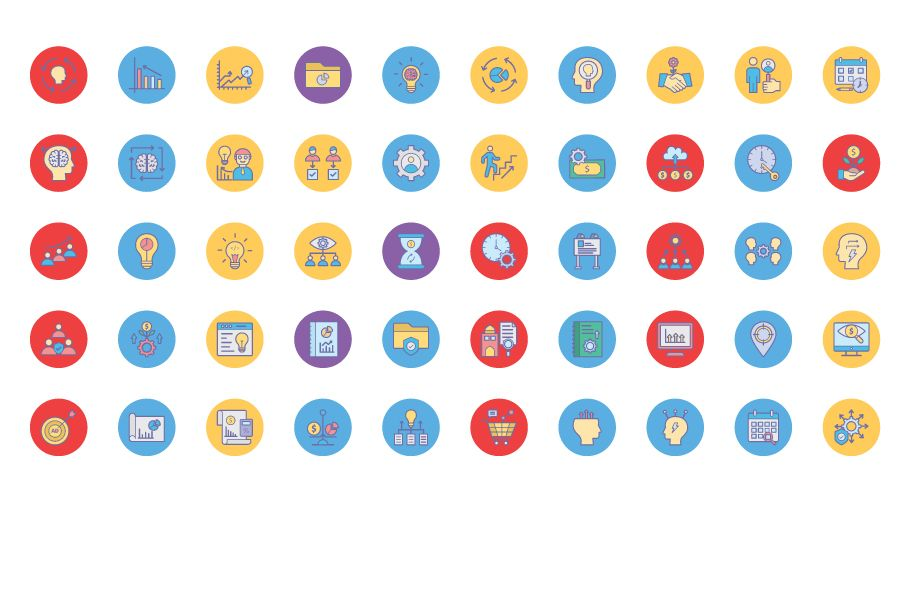 600 Cross Marketing Vector Icons Pack Screenshot 7