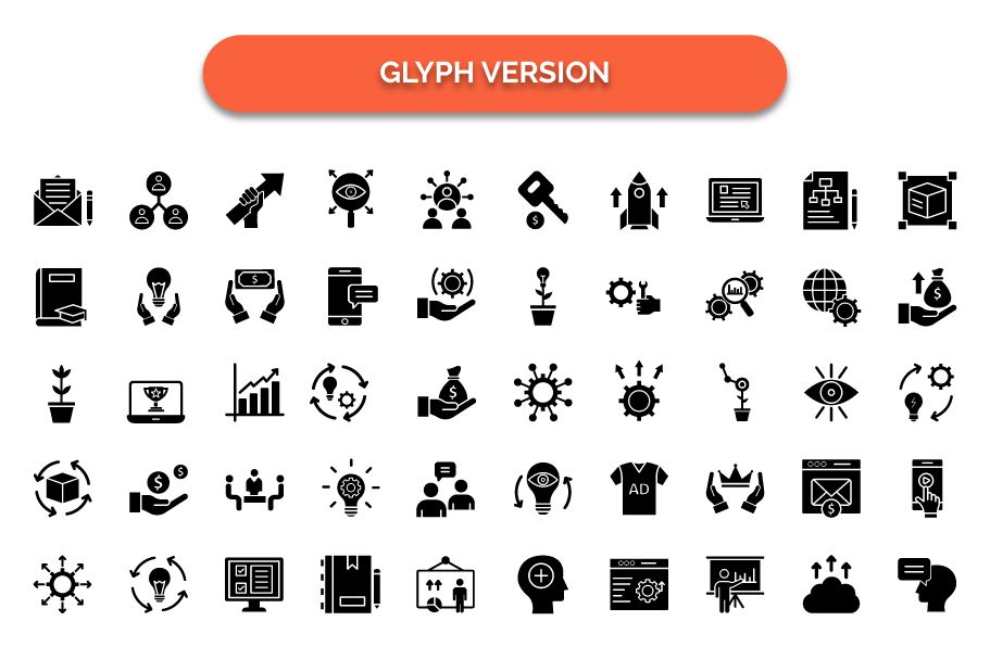 600 Cross Marketing Vector Icons Pack Screenshot 8