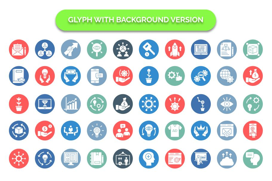 600 Cross Marketing Vector Icons Pack Screenshot 10