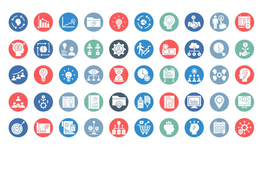 600 Cross Marketing Vector Icons Pack Screenshot 11