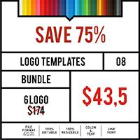 Logo Templates Bundle #8