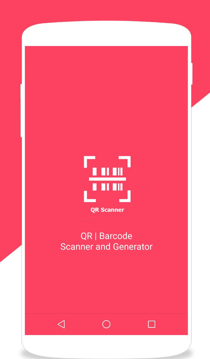 QR Barcode Scanner and Generator Android Screenshot 1