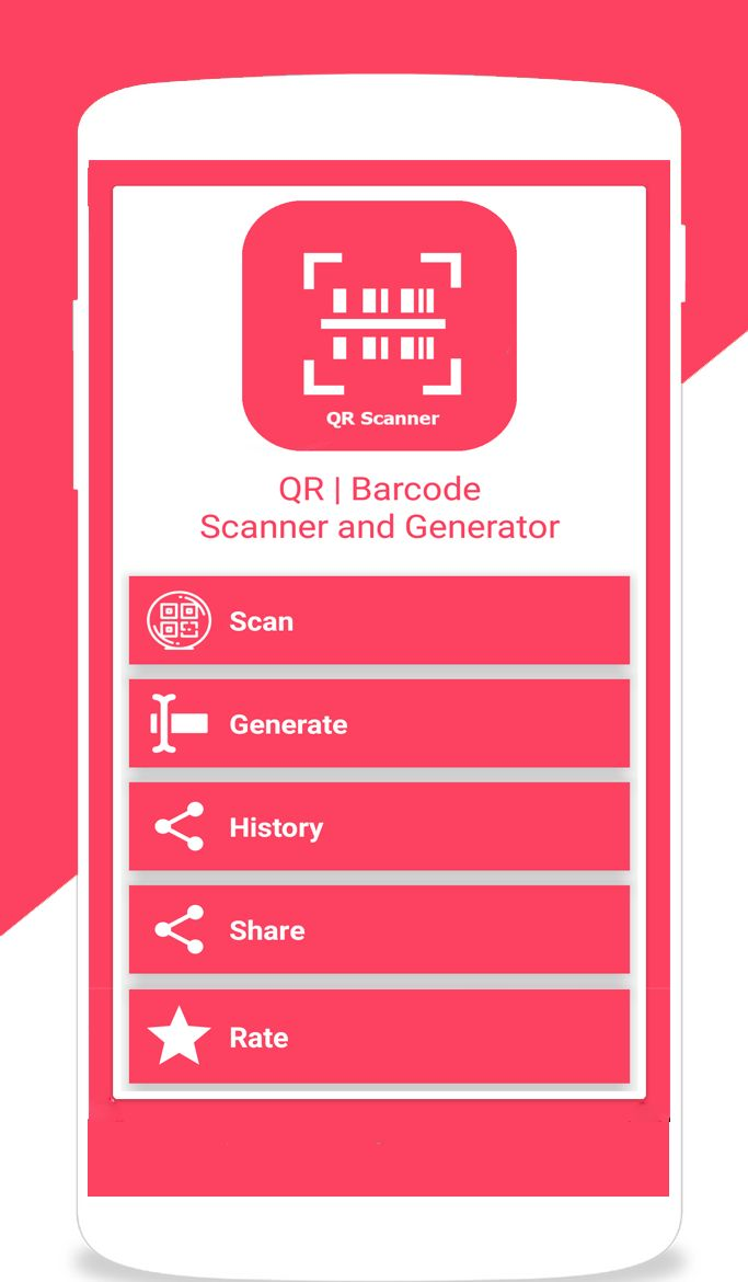 QR Barcode Scanner and Generator Android Screenshot 2