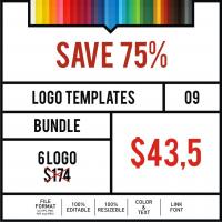 Logo Templates Bundle #9