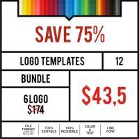 Logo Templates Bundle #12