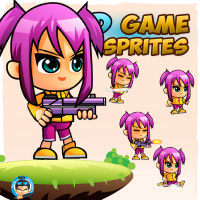 Lily 2D Game Sprites