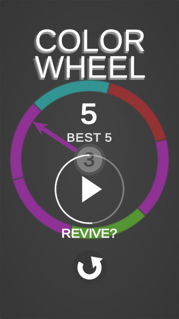 Color Wheel - Complete Unity Game Screenshot 3