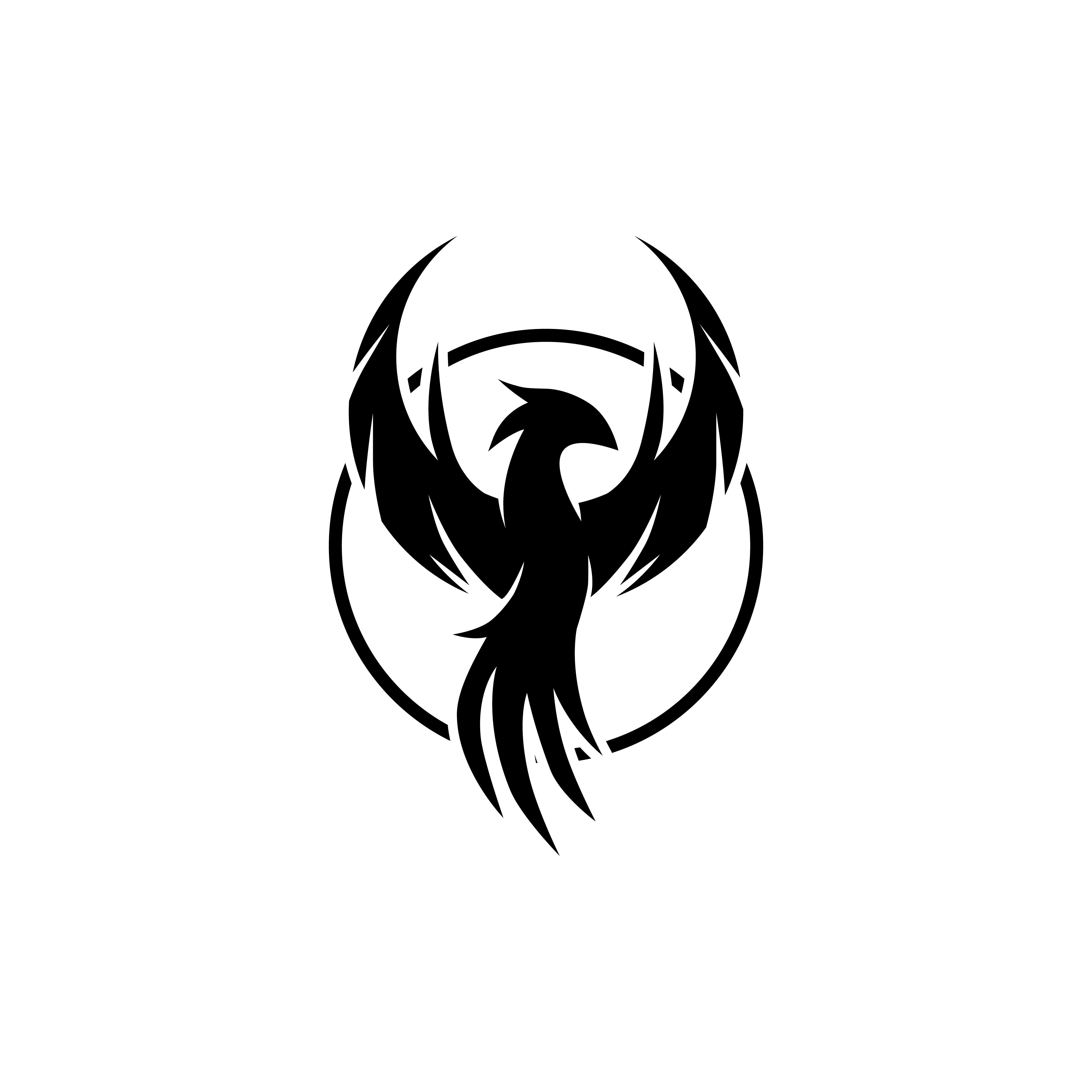 Phoenix - Colorful Logo Template By ScarSquad