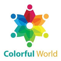 Colorful World Logo Template