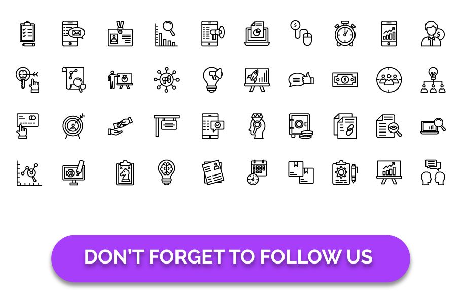 450 Financial Management Vector Icons Pack Screenshot 2