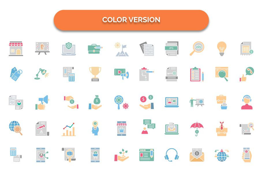 450 Financial Management Vector Icons Pack Screenshot 8