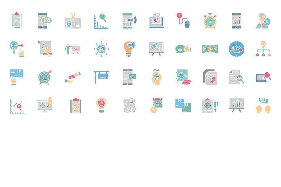 450 Financial Management Vector Icons Pack Screenshot 9