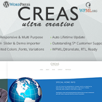 Creas - Wordpress Portfolio Theme