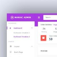 Maniac - Admin Template