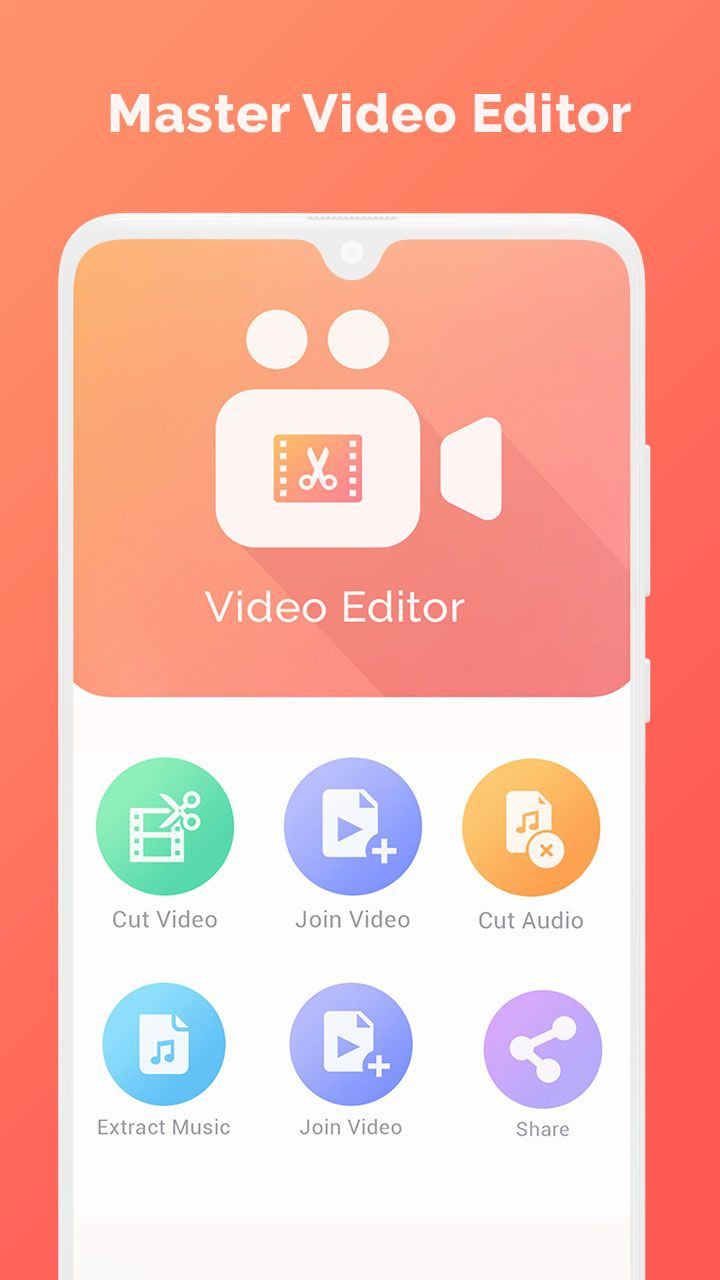 Master Video Editor - Android Source Code Screenshot 1
