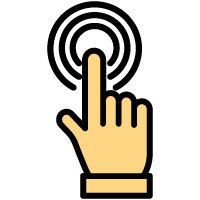 210 Hand Gesture Vector Icons Pack