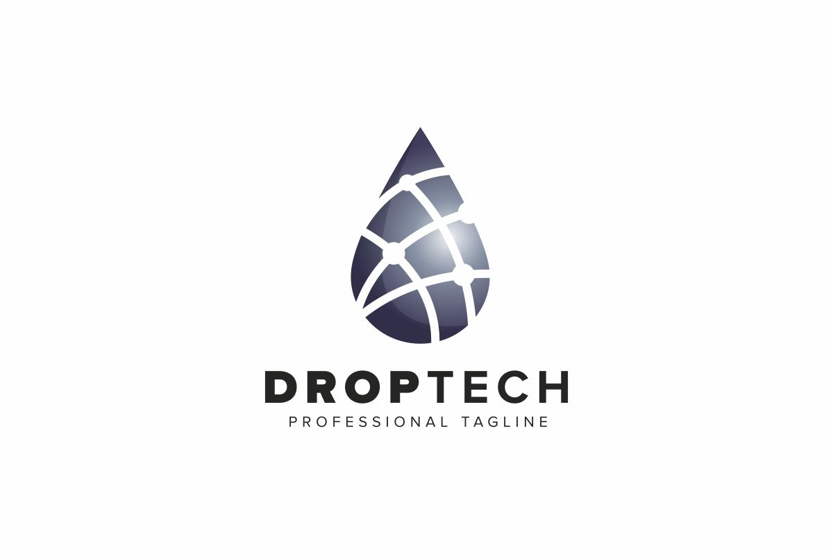 Drop Tech Logo Screenshot 1