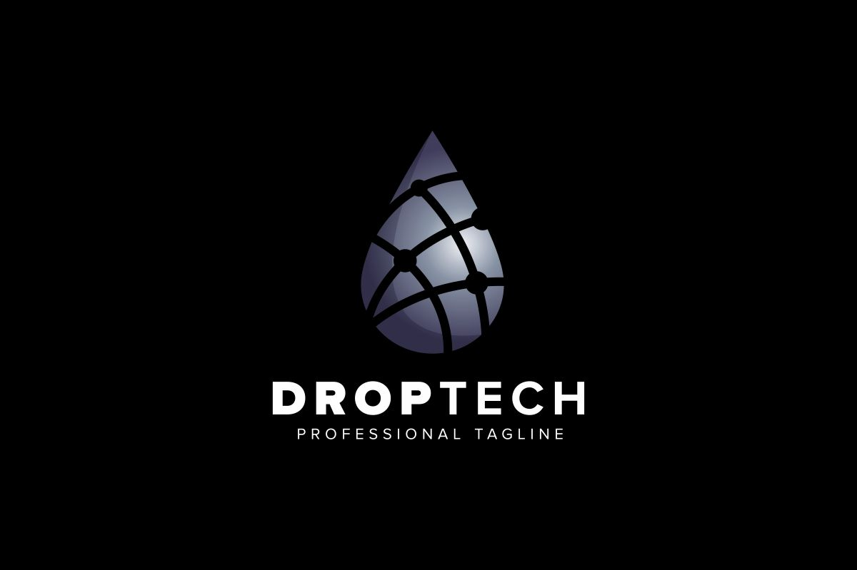 Drop Tech Logo Screenshot 2