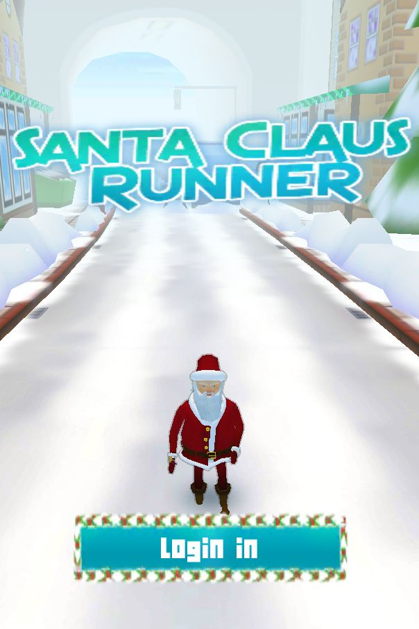 Santa Claus Runner 3D - Unity Source Code Screenshot 1