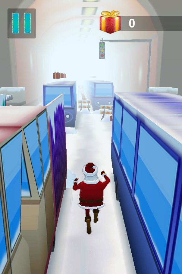 Santa Claus Runner 3D - Unity Source Code Screenshot 2