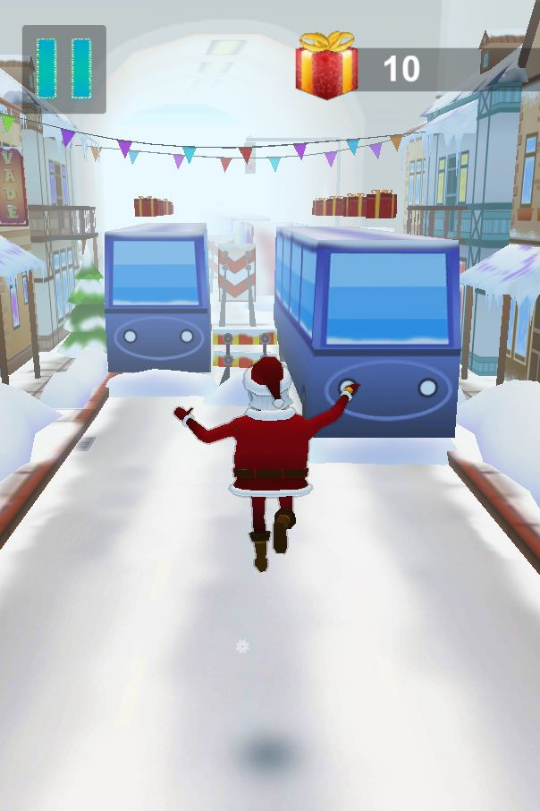 Santa Claus Runner 3D - Unity Source Code Screenshot 3