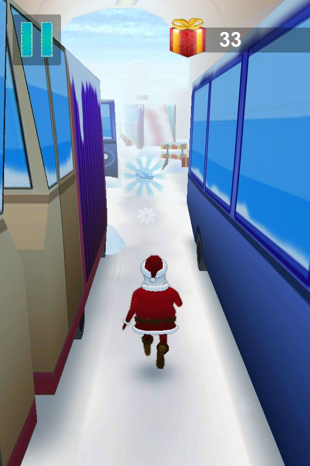 Santa Claus Runner 3D - Unity Source Code Screenshot 5