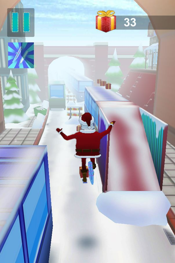 Santa Claus Runner 3D - Unity Source Code Screenshot 6