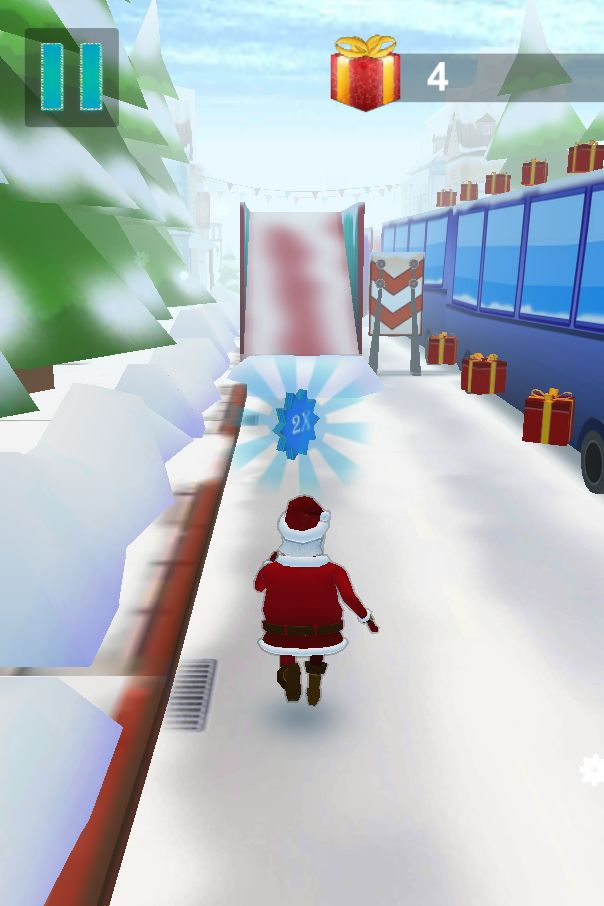 Santa Claus Runner 3D - Unity Source Code Screenshot 7