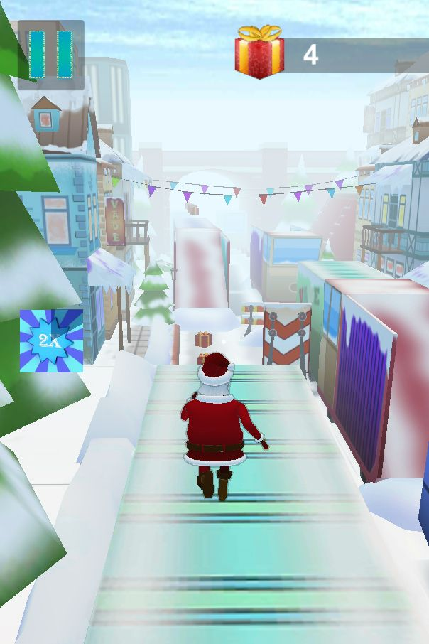 Santa Claus Runner 3D - Unity Source Code Screenshot 8