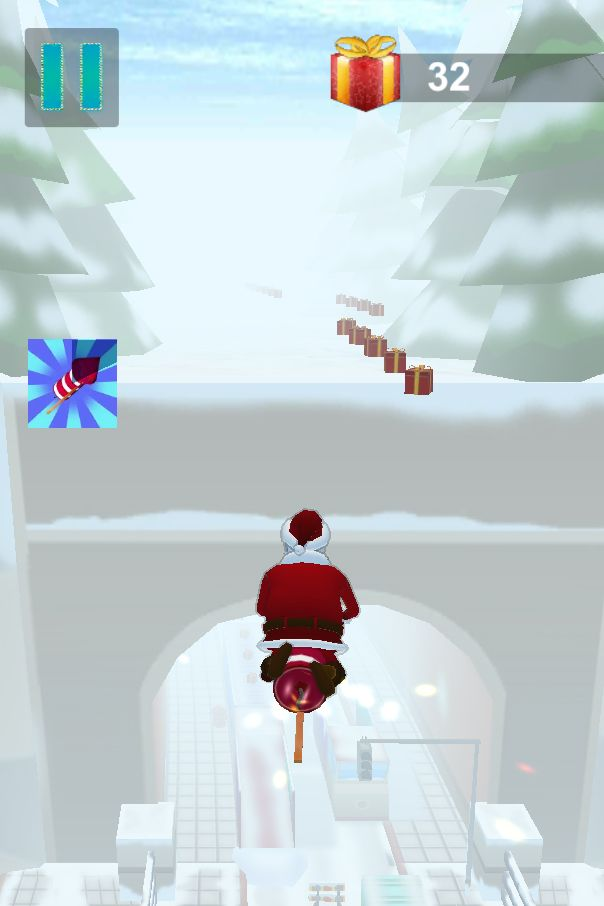 Santa Claus Runner 3D - Unity Source Code Screenshot 9