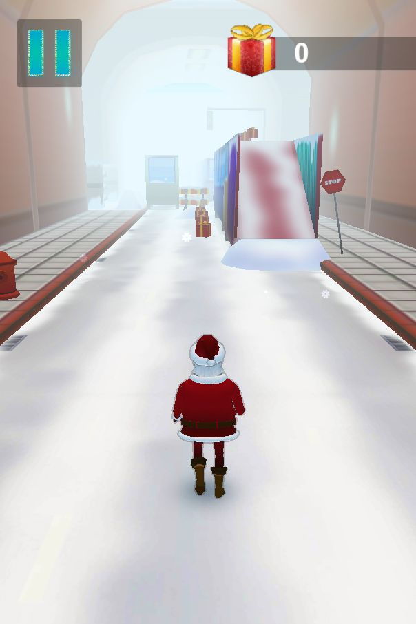 Santa Claus Runner 3D - Unity Source Code Screenshot 12