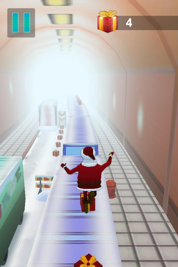 Santa Claus Runner 3D - Unity Source Code Screenshot 13