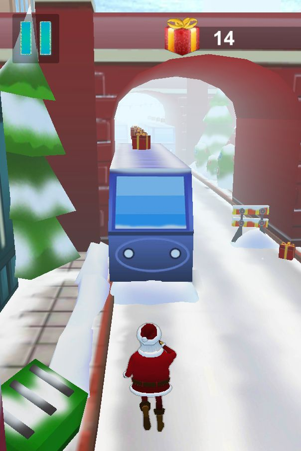 Santa Claus Runner 3D - Unity Source Code Screenshot 14